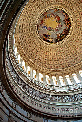 Photograph - Capital Dome by Rich Walter
