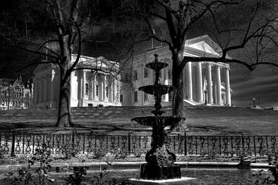 Capitol Building Photograph - Capitol Fountain by Tim Wilson