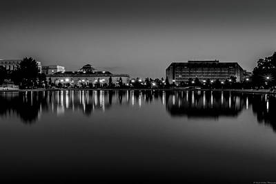 Washingtondc Photograph - Capitol Reflection by Dado Molina