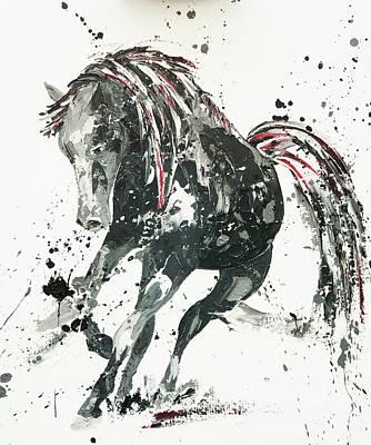 Exuberance Painting - Capriccio by Penny Warden