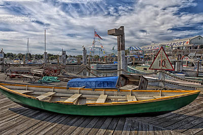 Netting Photograph - Captain Cove Seaport by Mountain Dreams