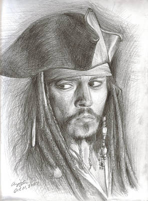 Captain Jack Sparrow Original by Anjie Liu