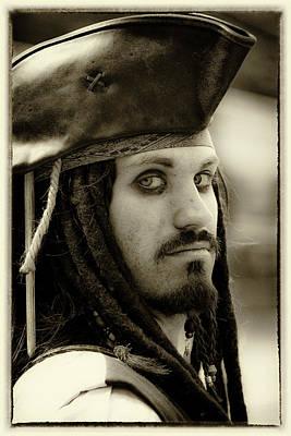 Captain Jack Sparrow Print by David Patterson