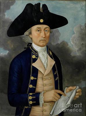 Reverse Painting - Captain Joseph Huddart by MotionAge Designs
