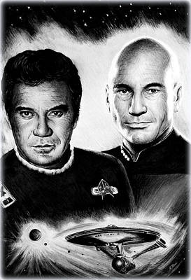 Captains Print by Andrew Read