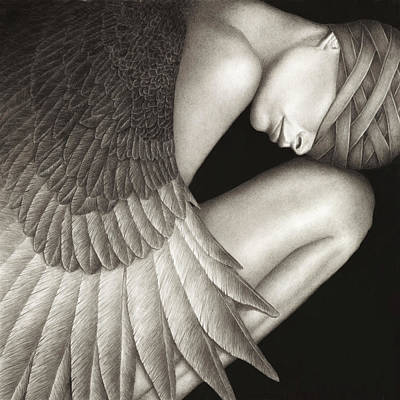 Black Painting - Captivity by Pat Erickson