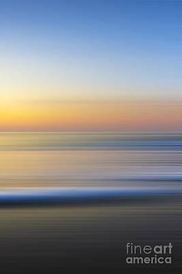 Caramel Dawn - Part 3 Of 3 Print by Sean Davey