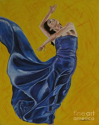 Elisabetta Artusi Painting - Carefree by Betta Artusi