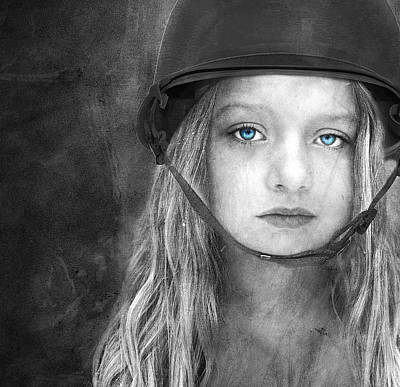 Despair Digital Art - Careful by Jacky Gerritsen