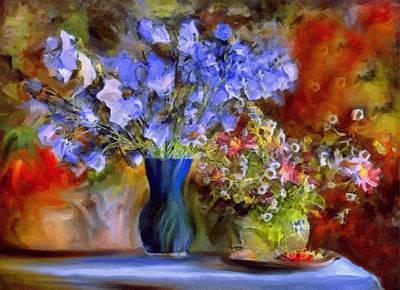 Caress Of Spring - Impressionism Print by Georgiana Romanovna