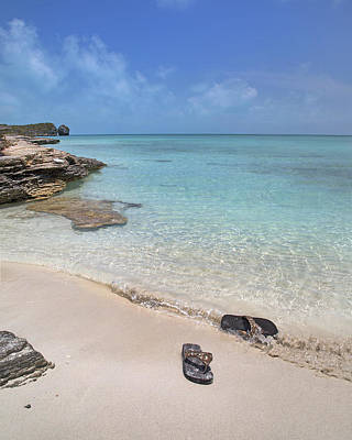 Green And Brown Photograph - Caribbean Flippin Flops by Betsy C Knapp