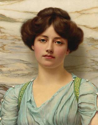John William Godward Painting - Carina by John William Godward