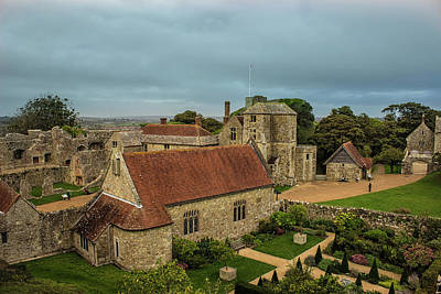 Medieval Entrance Photograph - Carisbrooke Castle Isle Of Wight by Martin Newman