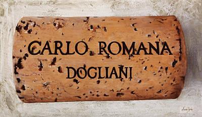 Carlos Painting - Carlo Romana Dogliani by Danka Weitzen