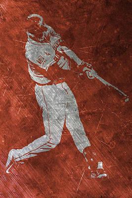 Houston Astros Painting - Carlos Correa Houston Astros Art by Joe Hamilton