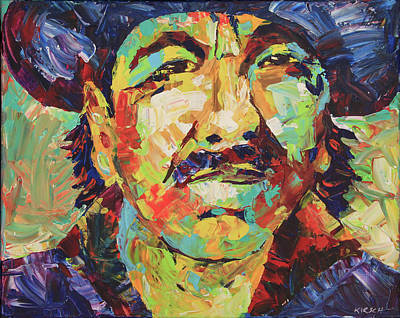 Carlos Santana Original by Robert Kirsch