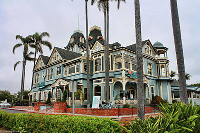 Photograph - Carlsbad Victorian Restaurant by Tommy Anderson