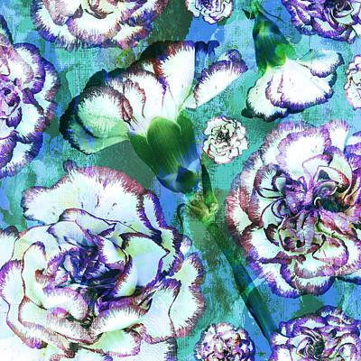 Carnation Dreams Print by Susanne Kasielke