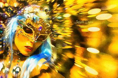 Adult Digital Art - Carnival Fantasy - Da by Leonardo Digenio