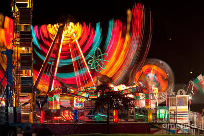 Carnival In Motion Print by James BO  Insogna