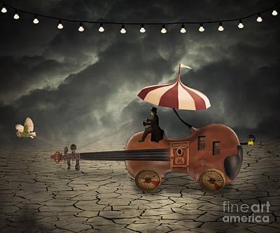 Circus Photograph - Mr. Dark by Juli Scalzi
