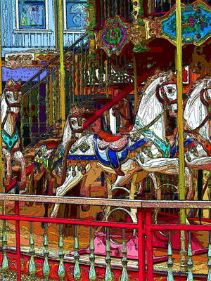 Carousel Fantasy Original by Matthew Klein