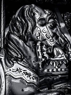 Carousel Of Despair 2 Print by James Aiken