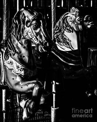 Carousel Of Despair 3 Print by James Aiken