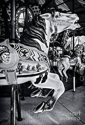 Carousel Of Despair 7 Print by James Aiken