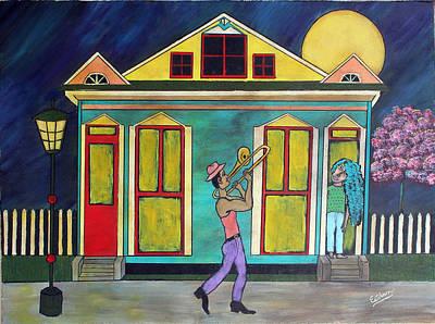 Carribean Nights Original by Stephen Harrelson