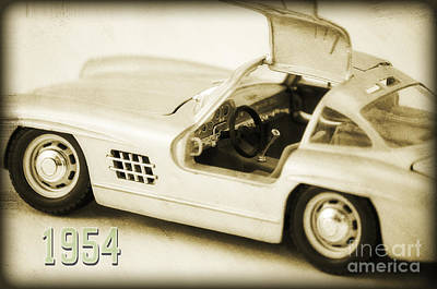 Cars 1954 II Print by Angela Doelling AD DESIGN Photo and PhotoArt