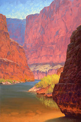 Canyon Painting - Carving Castles by Cody DeLong