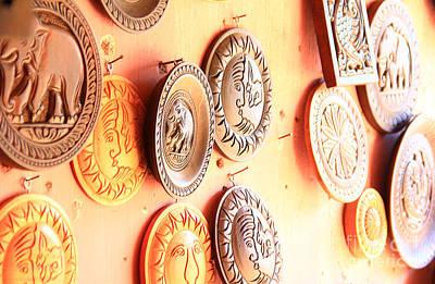 Morning Relief - Carvings With Summer Glow  by Prar Kulasekara