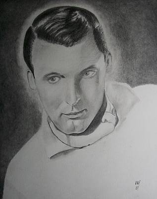 Grey Drawing - Cary by Nick Young