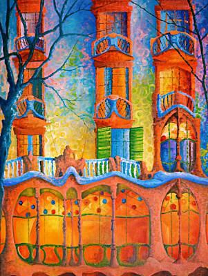 Casa Batllo Original by Joe Gilronan