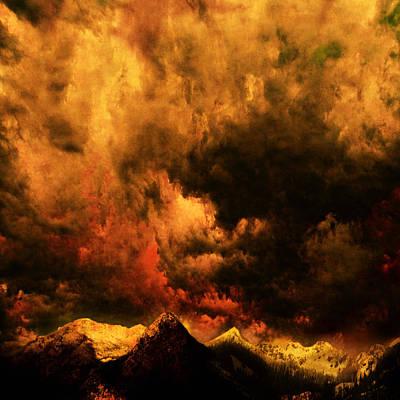 Cascade Storm Print by Jeff Burgess