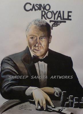 Catherine Jackson Painting - Casino Royale by Sandeep Kumar Sahota