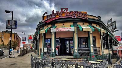 Cask 'n Flagon Print by SoxyGal Photography