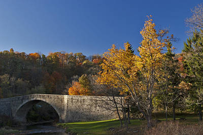 Old Country Roads Photograph - Casselman River Bridge by Gregory Scott