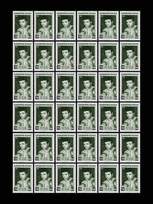 Cassius Clay World Champion Stamp Print by Mark Rogan