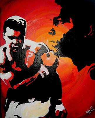Muhammad Ali Art Painting - Cassius by Matt Burke