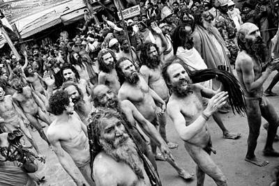 India Babas Photograph - Cast Of Thousands by John Battaglino