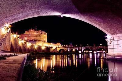 Castel Sant'angelo - Castle Of The Holy Angel Print by DJ MacIsaac