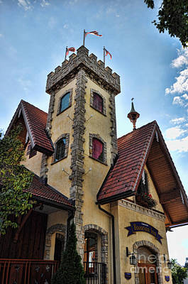 Castle Frankenmuth Print by Chris Fleming