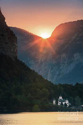 Hallstatt Photograph - Castle Grub In Austria by Henk Meijer Photography