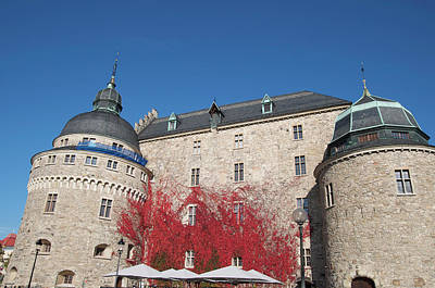 Orebro Photograph - Castle In Orebro, Swedish Town by Tamara Sushko