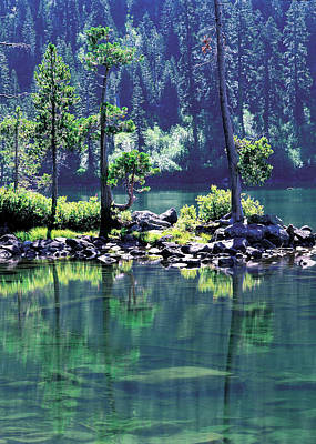 Jim Nelson Photograph - Castle Lake by Jim Nelson