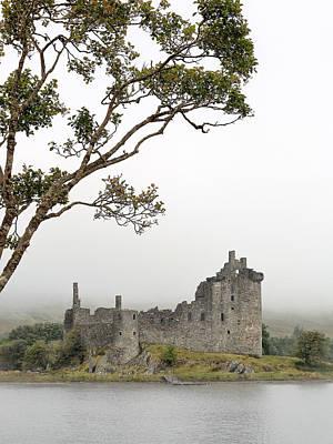 Castle Photograph - Castle Mist by Grant Glendinning