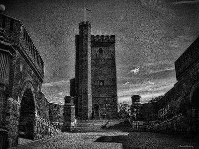 Helsingborg Photograph - Castle Of Helsingborg by Ramon Martinez