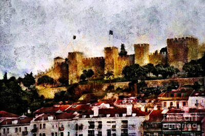 Portuguese Mixed Media - Castle Of St. George by Dariusz Gudowicz